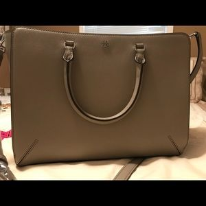 Tory Burch Robinson Large Tote - French Gray - NWT